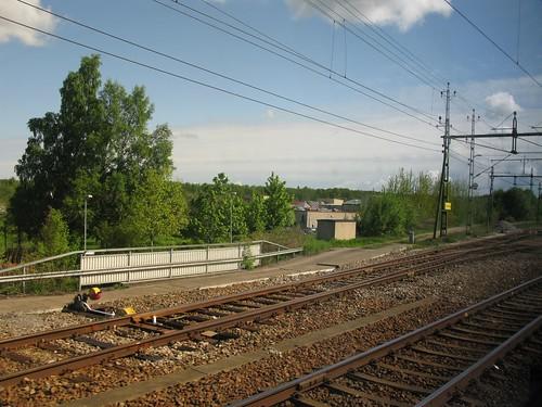 herrljunga 2010 train tåg västragötaland västtrafik