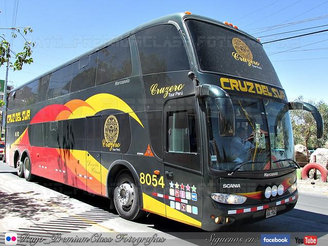 Marcopolo Paradiso 1800DD G6 / Scania / Cruz del Sur