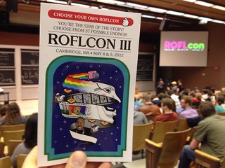 The ROFLcon programs are choose your own adventure books | by jasoneppink