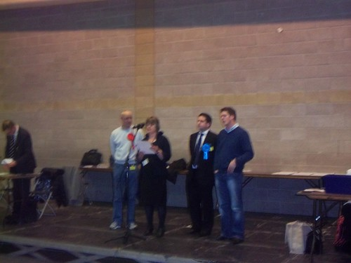 James Ross winning Bridge Ward   by MWCA.Maidstone