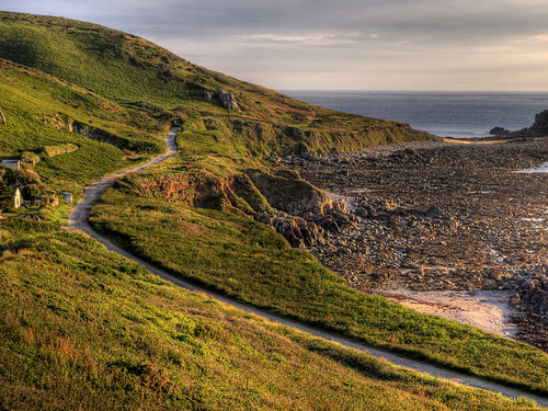 The road to Fort Clonque, on Alderney | by neilalderney123