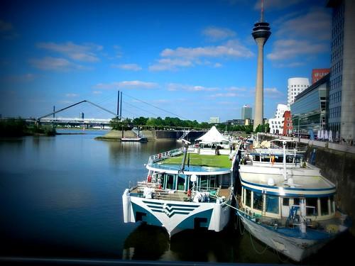 Medienhafen May 2012   by Retinafunk