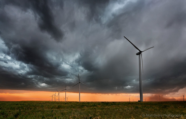 Windmills in the Outflow