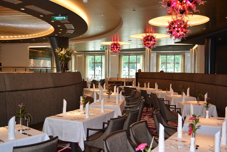 Restaurant Weltmeere - Visite du MS EUROPA 2 - Bordeaux - 20 mai 2013