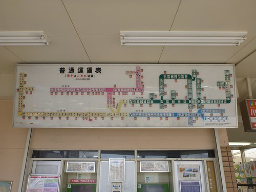 Sanyo-Suma Station, Sanyo Electric Raillway   by Kzaral
