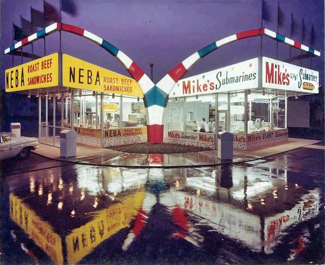 Mike's Neba sandwich/submarine shops albany  ny 1960 s