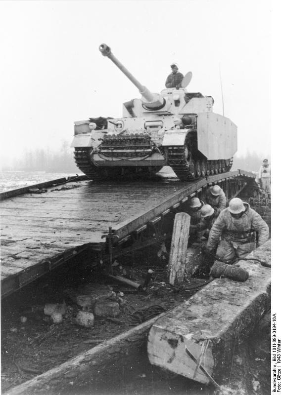 Niemiecki czołg IV Ausf H