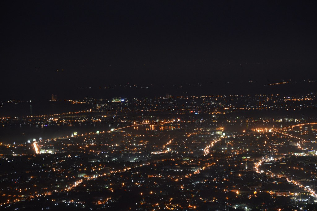 Skyline of Cebu from Tops Lookout