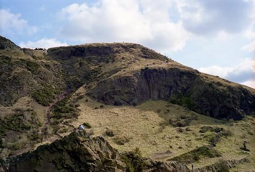 "Image titled ""Scaling Arthur's Seat, Edinburgh."""