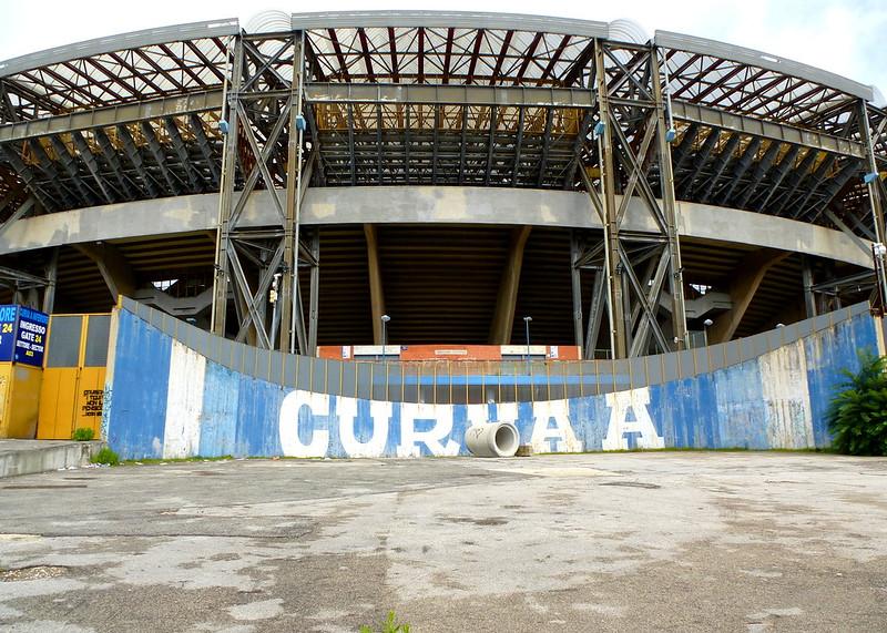 Napoli Stadio San Paolo Curva A