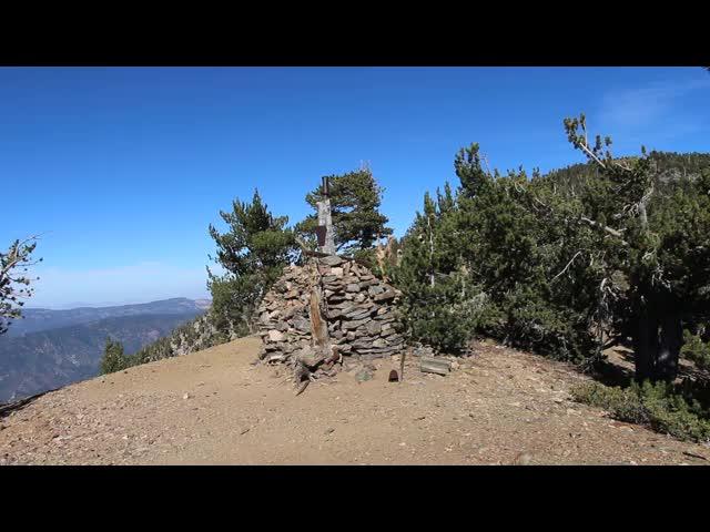 272 Panorama video from Washington Monument on San Bernardino Peak