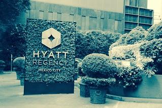 Stayed at the Hyatt