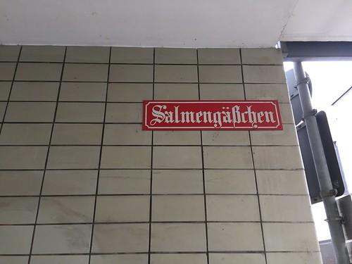 Salmengäßchen in Mainz