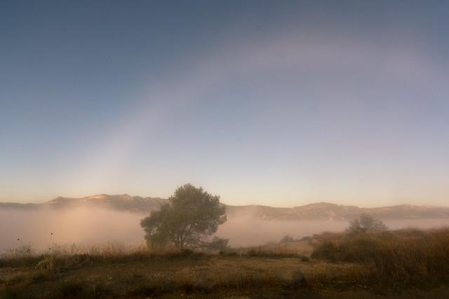 Arc de boira o espectre de Brocken | Pedró del Mas Reig
