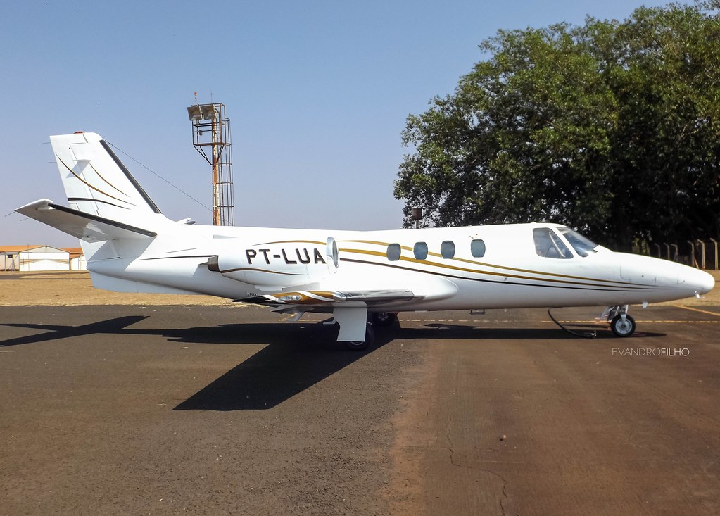 PT-LUA - Cessna 500 Citation I   Local: Ituiutaba - Aeroclub