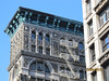 New York – také tato ornamentální fasáda je odlitá ze železa, foto: Luděk Wellner