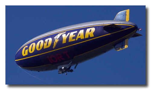Goodyear Blimp | by Mark Turnauckas