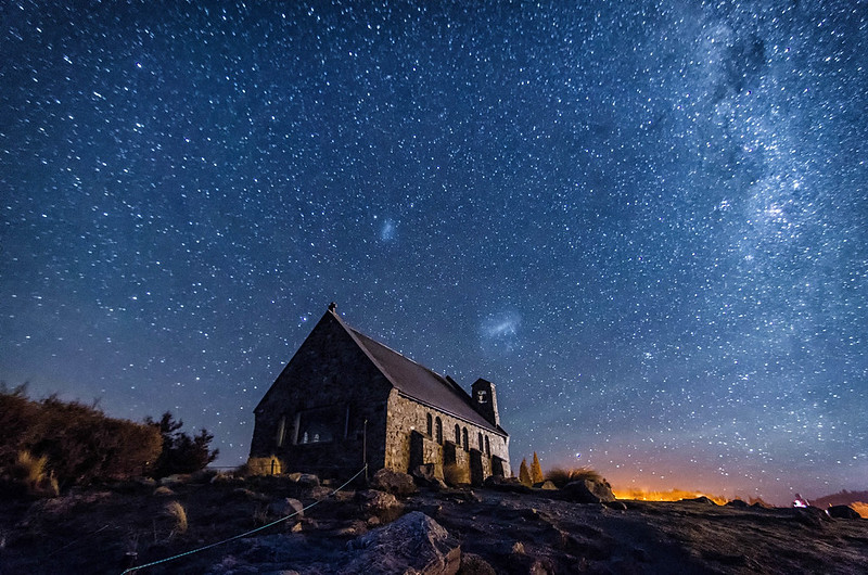Milky Way by the Church of the Good Shepherd