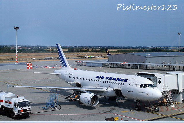 AirFrance F-GRXE Airbus A319