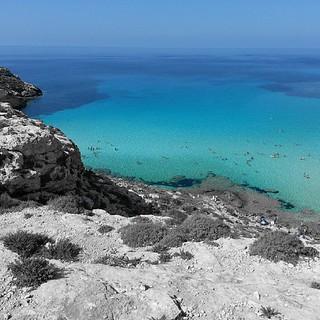 Lampedusa - Spiaggia dell'Isola dei Conigli   by marco_ask