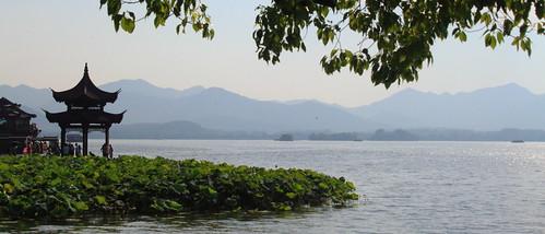 china lake west pagoda hangzhou xihu