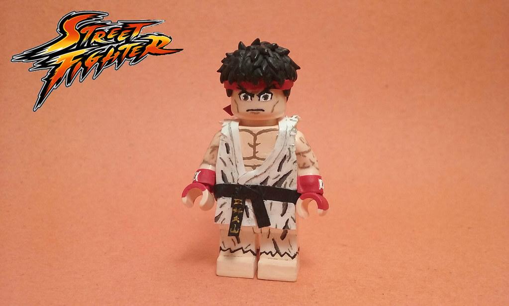 LEGO Street Fighter: Ryu  