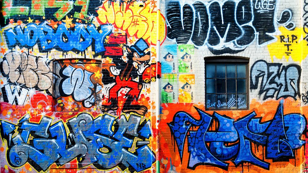 Graffiti Wallpaper 2048 X 1152 169 Bill Dickinson Flickr