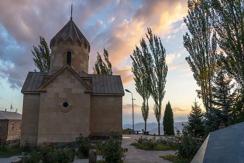 sunset church sony religion christian armenia amount apostolic dyxum vayotsdzor sal2875 slta99v aghavnadzor