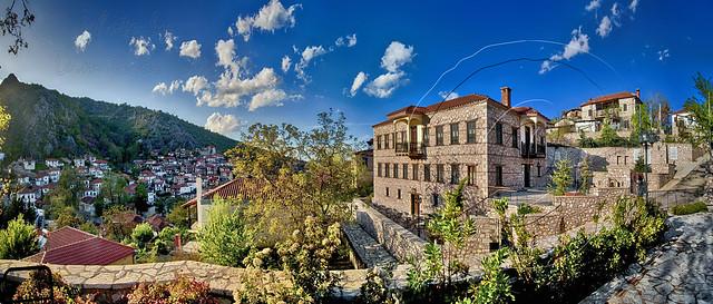 Αρχοντικόν Σύρμου ή Ζήγρα Mansion House Syrmou or Zigras Panorama
