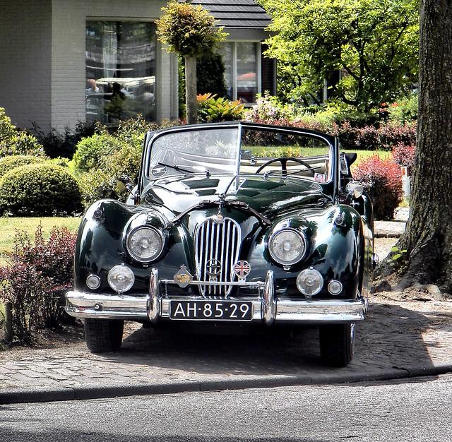 1956 Jaguar 140XK  DH Cabriolet