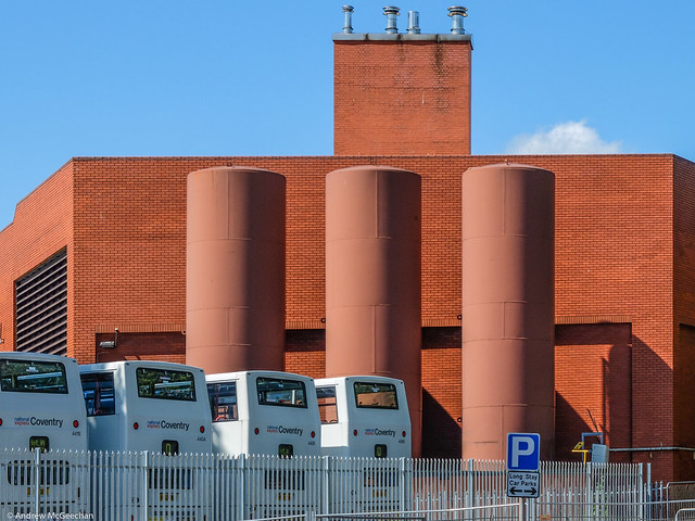 Wheatley Street Bus Garage Coventry (City Architects 1986)