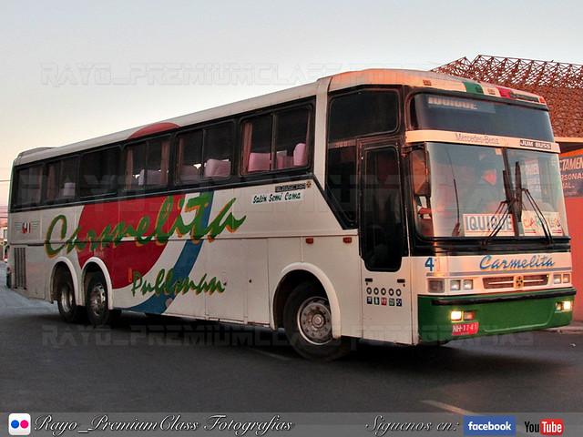 Busscar Jum Buss 360 / Mercedes Benz / Pullman Carmelita