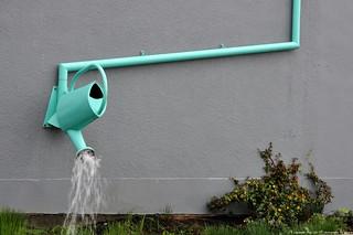 2016-10-21 Watering Can Downspout & Rain Garden (2048x1360) | by -jon