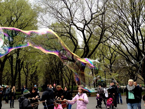 Bubbles in Central Park | by toomanycommas