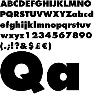 12693 font bold | Download Futura Extra Bold  | David Guo | Flickr