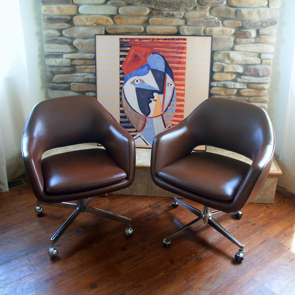 39 Saarinen for Knoll Executive Arm Chair Iconic MID CEN  Flickr