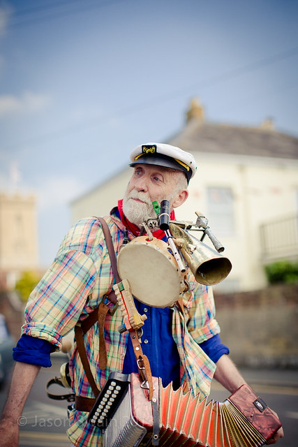 One Man Band - Yarmouth Old Gaffers Festival 2013