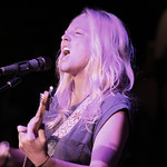 Tue, 04/06/2013 - 7:42pm - Lissie with an audience of WFUV Members, hosted by Rita Houston. Photo by Laura Fedele