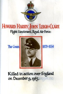 Leigh-Clare, Howard Harry John (1915-1943) | by sherborneschoolarchives