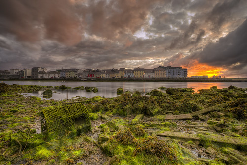 ireland summer irish seascape galway sunrise cogalway summertime galwaycity claddaghquay irishseascape