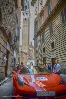 Mille Miglia a Siena.....