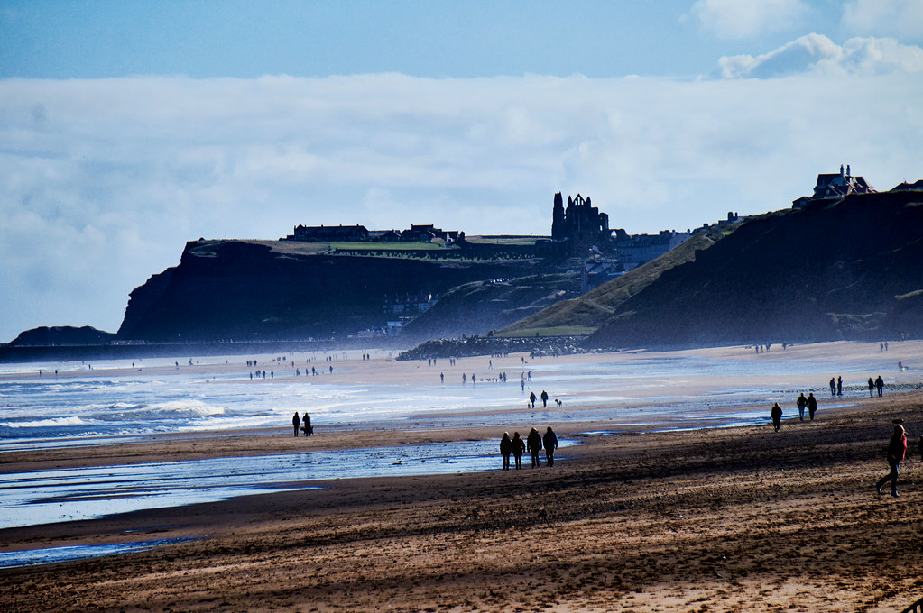 whitby abbey from the sea