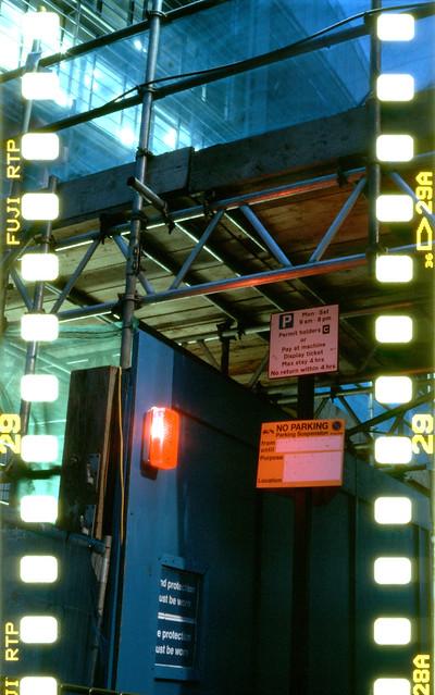 Lubitel 166 U + 35mm film + tripod