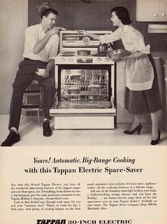 1956 Tappan Stove ad