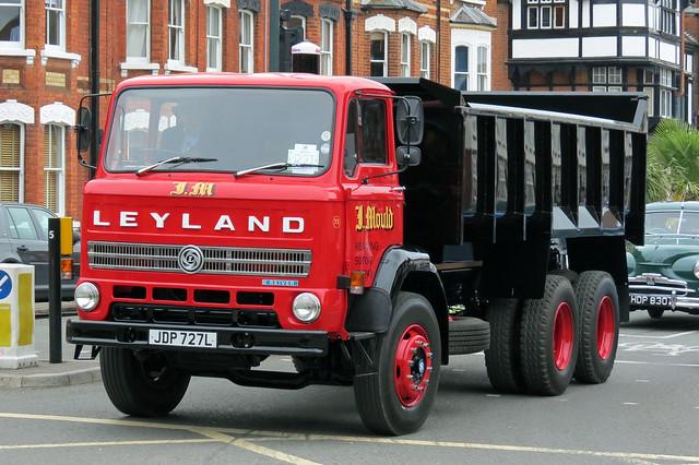 JDP727L Leyland Reiver J Mould Tipper Lorry