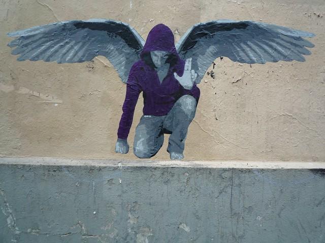 I was an angel...