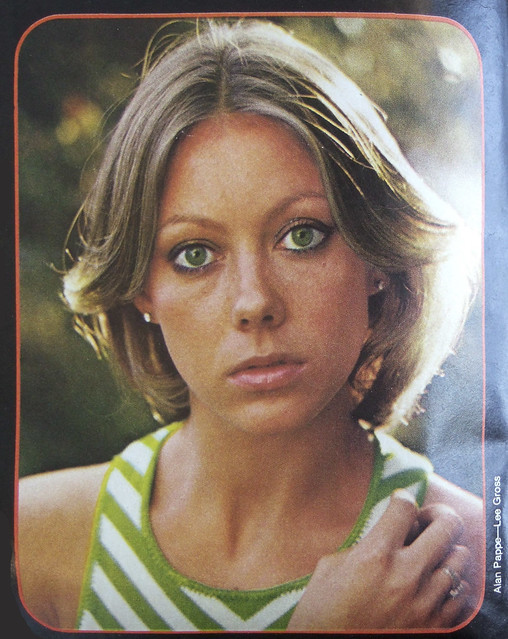 Jenny Agutter by Alan Pappe for Lee Gross