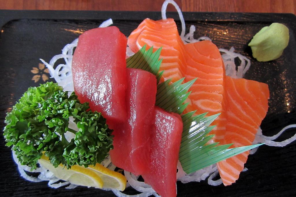 Tuna and Salmon Sashimi - Job done :-) | Day 116 of 365 day … | Flickr