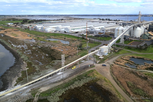 Alcoa Geelong by kite