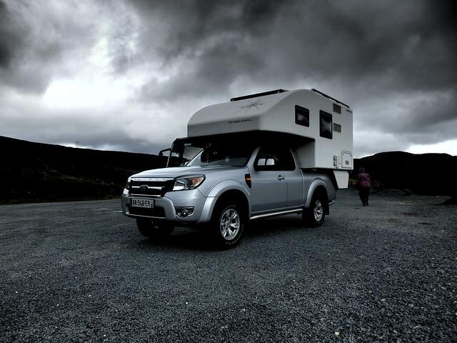ford ranger pick up truck camper van flickr photo sharing. Black Bedroom Furniture Sets. Home Design Ideas
